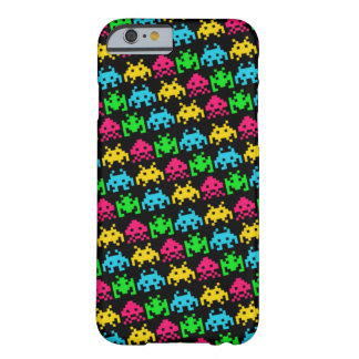 Invaders - Dark Barely There iPhone 6 Case