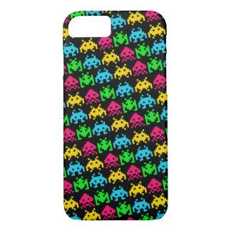 Invaders - Dark iPhone 8/7 Case