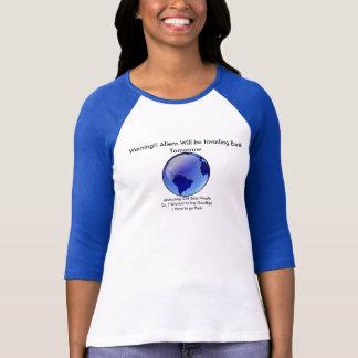 Invading Aliens T shirt