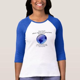 Invading Aliens T shirt II