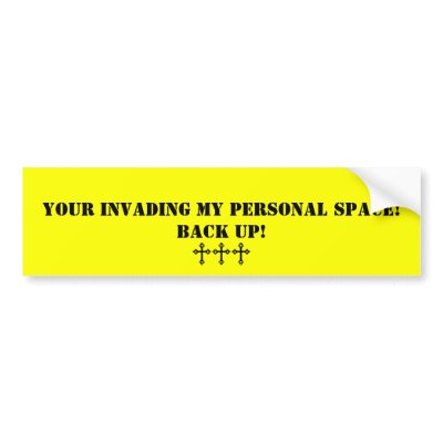 personal space invasion Personal space is an approximate area surrounding an individual in which other people should not physically violate in order for them to feel comfortable and secure.