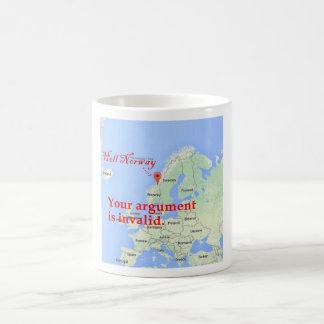 Invalid Argument. Try Again. Coffee Mug