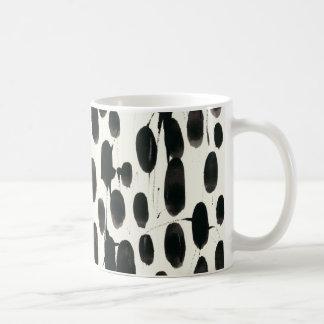 Invariable I   Black Watercolor Coffee Mug