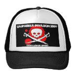 Invasión 09 gorras