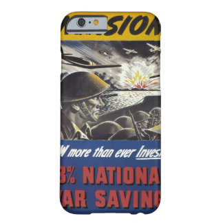 Invasion! (1944)_Propaganda Poster Barely There iPhone 6 Case