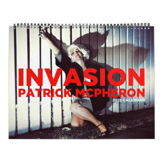 INVASION - A Science Fiction Extravaganza! Calendar