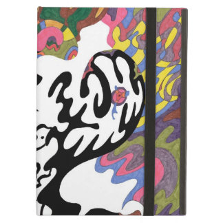 """""""Invasion"""" Abstract Art Case For iPad Air"""