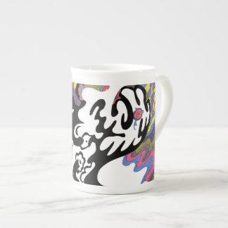 """""""Invasion"""" Abstract Art Tea Cup"""