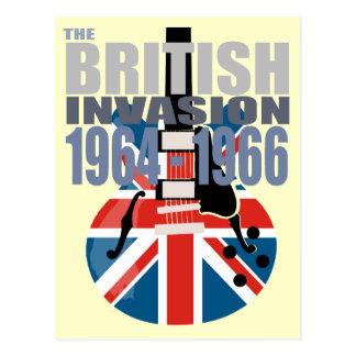 Invasión británica 2 postal
