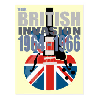 Invasión británica 2 tarjetas postales
