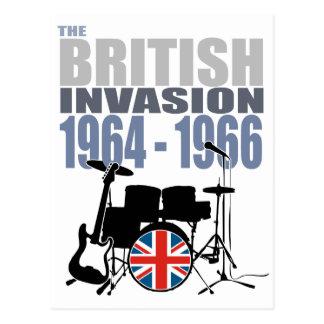 Invasión británica III Postal