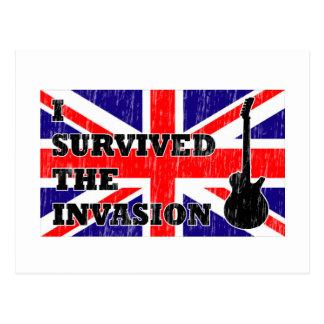 Invasión británica postales