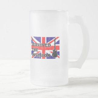 Invasión británica taza de cristal