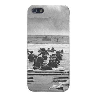 Invasión de Normandía en el día D - 1944 iPhone 5 Carcasas