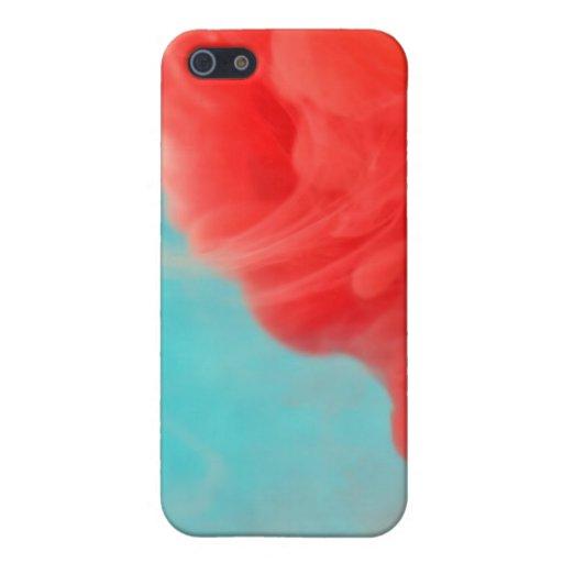 Invasión del color iPhone 5 cárcasa