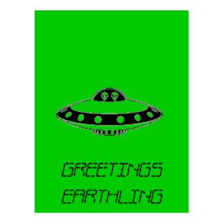 ¡INVASIÓN DEL UFO! POSTALES