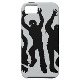 Invasión del zombi iPhone 5 funda