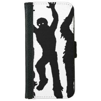 Invasión del zombi funda cartera para iPhone 6