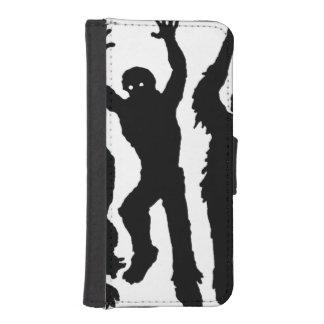 Invasión del zombi fundas billetera de iPhone 5