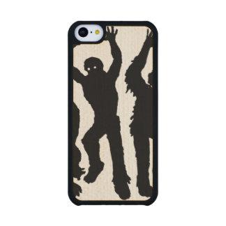 Invasión del zombi funda de iPhone 5C slim arce