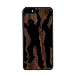 Invasión del zombi funda de madera para iPhone 5