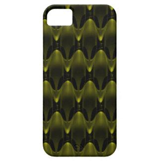Invasión extranjera amarilla de neón funda para iPhone SE/5/5s