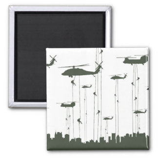 Invasion Fridge Magnet
