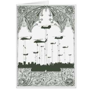 Invasion Greeting Card