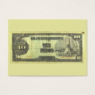 Invasion Money 10 ~ ATC Business Card