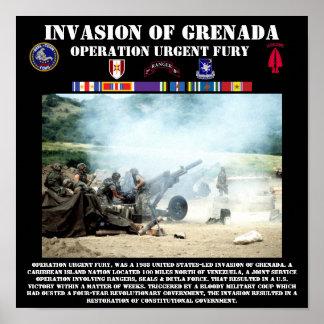 Invasion Of Grenada Print