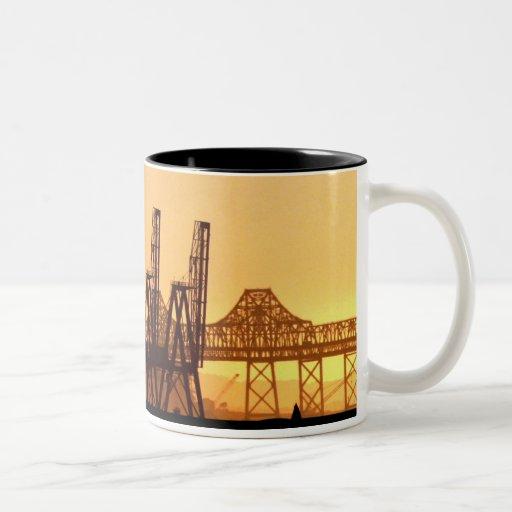 Invasion of Oakland Two-Tone Coffee Mug