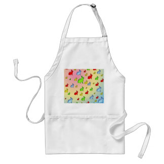 Invasion of the Jelly Bunnies Adult Apron