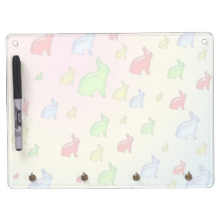 Invasion of the Jelly Bunnies Dry Erase Board