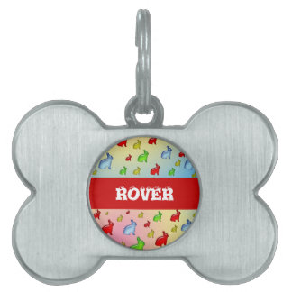 Invasion of the Jelly Bunnies Pet ID Tag