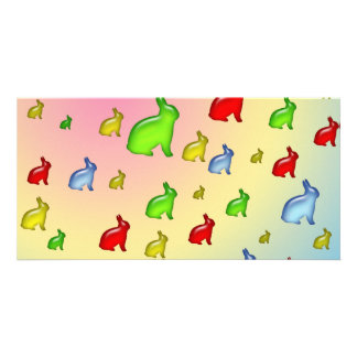 Invasion of the Jelly Bunnies Photo Card