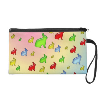 Invasion of the Jelly Bunnies Wristlet Purse