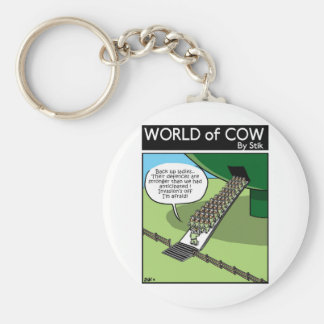 Invasion of the Milk Squirters Keychain