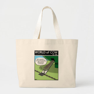 Invasion of the Milk Squirters Large Tote Bag