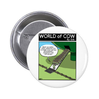 Invasion of the Milk Squirters Pinback Button