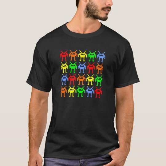 Invasion of the Multi-Color Nano-bots T-Shirt
