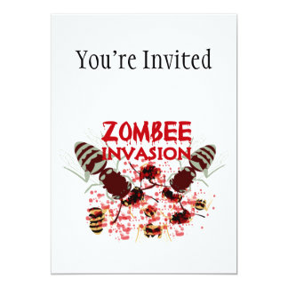 Invasion Of The Zombees Card
