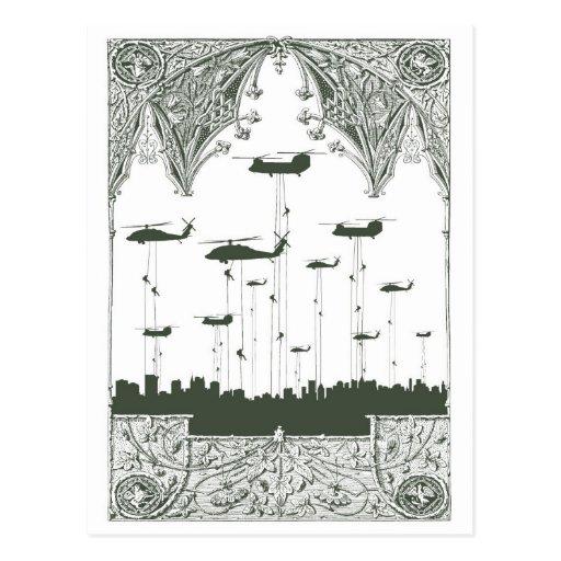 Invasion Postcard