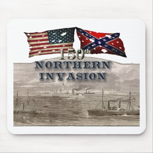 Invasión septentrional 2 tapetes de ratón