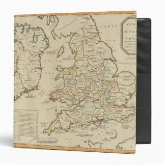 Invasions England, Ireland Vinyl Binder