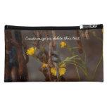 Invasive Flower; Customizable Greetings Cosmetics Bags
