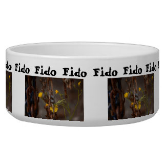 Invasive Flower; Customizable Greetings Bowl