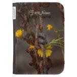 Invasive Flower; Customizable Greetings Kindle Keyboard Covers