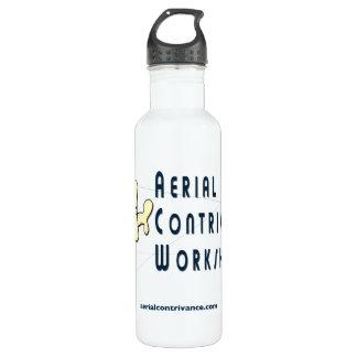 Invención aérea botella de agua