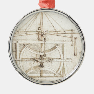 Invención de Leonardo Adorno Navideño Redondo De Metal
