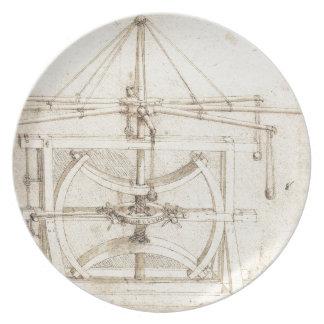 Invención de Leonardo Platos Para Fiestas